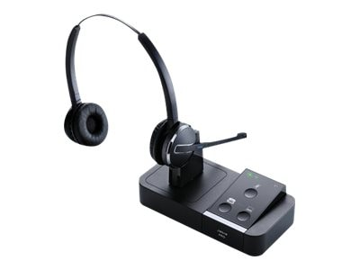 Jabra PRO 9450 Flex Duo Wireless Headset, 9450-69-707-105, 36901919, Headsets (w/ microphone)