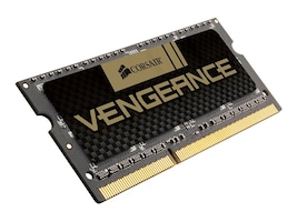 Corsair 16GB PC3-12800 204-pin DDR3 SDRAM SODIMM Kit, CMSX16GX3M2B1600C9, 16673576, Memory