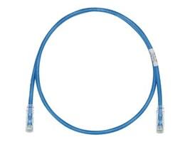Panduit Cat6e 28AWG UTP CM LSZH Copper Patch Cable, Blue, 8, UTP28SP8INBU, 21173980, Cables
