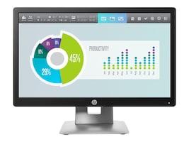HP 20 EliteDisplay E202 LED-LCD Monitor, Black, M1F41AA#ABA, 31146731, Monitors