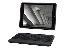Zagg Rugged Book Case w  Detachable Keyboard for 9.7 iPad Pro iPad Air 2, Black, A97RGK-BB0, 35024184, Keyboards & Keypads