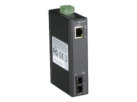 Black Box FE Copper to FE Fiber 20km SM SC Hardened Mini Industrial Media Converter, LMC270A-SM-20K-SC, 35099830, Network Transceivers