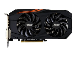 Gigabyte Tech AORUS Radeon RX 580 PCIe 3.0 Graphics Card, 8GB GDDR5, GV-RX580AORUS-8GD, 33950660, Graphics/Video Accelerators