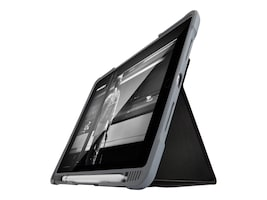 STM Bags Dux Plus Case for iPad 6th Gen, Black, STM-222-165JW-01, 35542512, Carrying Cases - Tablets & eReaders