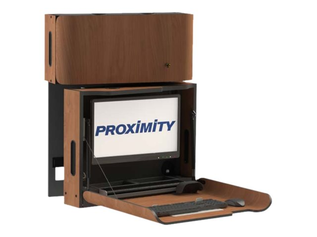 Proximity Classic Series Wall Mounted Computer Workstation With Cxt