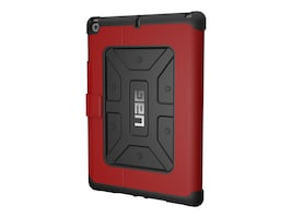 Urban Armor Metropolis Composite Folio Case for iPad 9.7 (2017), Magma, IPD17-E-MG, 33891858, Carrying Cases - Tablets & eReaders