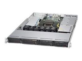 Supermicro Barebones, SuperServer 5018R 1U RM E5-2600 v3 Family Max.512GB DDR3 4x3.5 HS Bays 2xGbE 2x500W, SYS-5018R-WR, 19965363, Barebones Systems