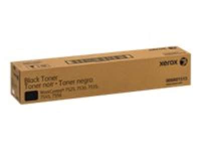 Xerox Black Toner Cartridge for the WorkCentre 7525, 7530, 7535, 7545 & 7556, 006R01513, 14255397, Toner and Imaging Components - OEM
