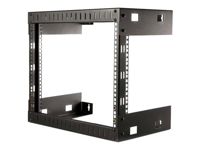 StarTech.com Open Frame Wall Mount Equipment Rack, 12\