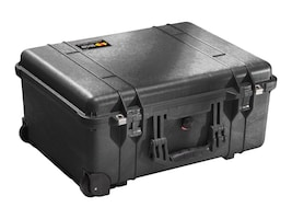 Pelican 1560 Case with Foam, Wheeled, Black, 1560 WL/WF BLACK, 11298885, Carrying Cases - Other