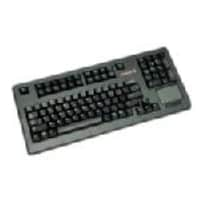 Open Box Cherry Touchboard 104-Key PS 2 Black 16 Keyboard Touchpad US 2-PS 2 Serial, G80-11900LTMUS-2, 35157294, Keyboards & Keypads