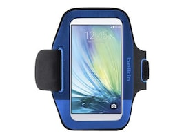 Belkin Sport-Fit Armband for Galaxy S6 S6 Edge, F8M968-C01, 32660206, Carrying Cases - Phones/PDAs