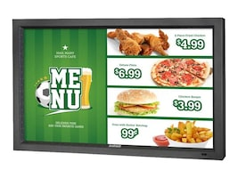 47 Marquee Series Full HD LED-LCD Outdoor Commercial TV, Black, DS-4720L-BL, 35129621, Digital Signage Systems & Modules