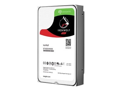 Seagate 4TB IronWolf SATA 6Gb s 3.5 Internal Hard Drive, ST4000VN008, 32620482, Hard Drives - Internal