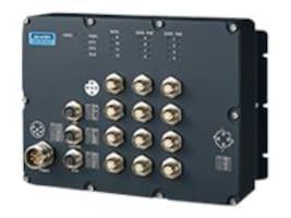 Quatech TRAIN SWITCH 12X M12 FE PORT W  8 POE PO, EKI-9512-PFIDL10E, 35166238, Network Switches