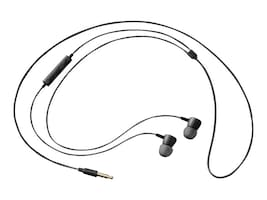 Samsung HS130 Wired Headphones - Black, EO-HS1303BEST2, 31990094, Headsets (w/ microphone)