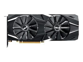 Asus NVIDIA GeForce RTX 2080 PCIe 3.0 Graphics Card, 8GB GDDR6, DUAL-RTX2080-O8G, 36175929, Graphics/Video Accelerators