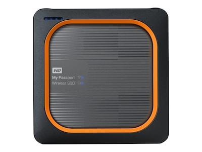 WD 500GB My Passport Wireless Solid State Drive W-Fi Mobile Storage, WDBAMJ5000AGY-NESN, 35681272, Solid State Drives - External