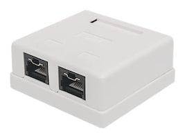 Intellinet Locking Cat6 UTP Mount Box, 771467, 33853528, Premise Wiring Equipment