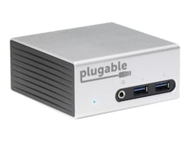 Plugable USB 3.0 4K Mini Dock with Dual Video, UD-5900, 31924839, Docking Stations & Port Replicators