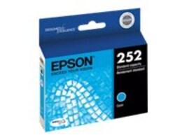 Epson T252 Durabrite Ultra Cyan Ink Cartridge, T252220, 17381604, Ink Cartridges & Ink Refill Kits
