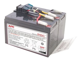 APC Replacement Battery Cartridge #48 for SUA750, SUA750I, SUA750US, RBC48, 5768289, Batteries - Other
