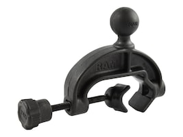 Ram Mounts Composite Yoke Clamp Base with 1 Rubber Ball, RAP-B-121BU, 35972731, Mounting Hardware - Miscellaneous