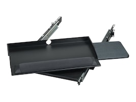 """Black Box 19"""" Sliding Pivoting Keyboard Tray with Mouse Tray, RM385, 5179345, Rack Mount Accessories"""