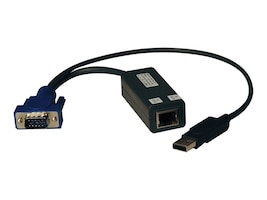 Tripp Lite NetCommander USB Server Interface Unit (SIU), B078-101-USB-1, 16365952, KVM Displays & Accessories