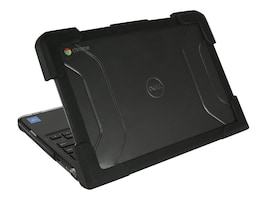Max Cases Dell 5190 Chromebook Clamshell Case, DL-ES-5190-CBC-BLK, 35451645, Carrying Cases - Notebook