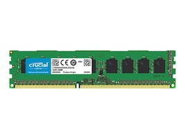 Crucial 8GB PC3-14900 240-pin DDR3 SDRAM UDIMM, CT102464BD186D, 19963309, Memory