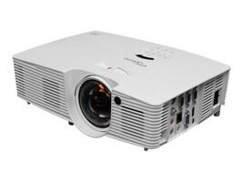 Optoma W316ST WXGA 3D DLP Projector, 3600 Lumens, White, W316ST, 17943654, Projectors