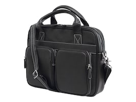 Mobile Edge Tech Briefcase 14.1 15 Mac, Black, MEBCT1, 17454973, Carrying Cases - Notebook