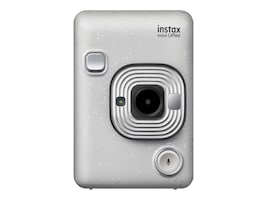 Fujifilm INSTAX Mini LiPlay Hybrid Instant Camera, Stone White, 16631760, 37170142, Cameras - Digital