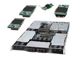 Supermicro Barebone, 1U RM Intel 5520 Dual Xeon, Max 96GB DDR3, 4x2.5 HS SATA, 1800W RPS, SYS-1026GT-TRF, 13591049, Barebones Systems