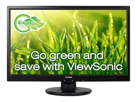 ViewSonic 27 VA2746MH-LED Full HD LED-LCD Monitor, Black, VA2746MH-LED, 34066681, Monitors