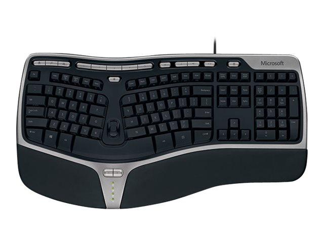 Microsoft Natural Ergonomic Keyboard 4000 for Business Win32 USB Port  English