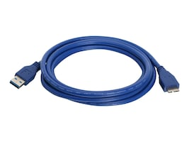 IOGEAR USB 3.0 Type A to Micro B Cable, 6.5ft, G2LU3AMB6, 18236142, Cables