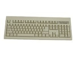 Keytronic 104-Key USB Keyboard - Beige, E06101U1, 7080699, Keyboards & Keypads