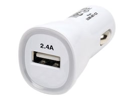 Tripp Lite USB Tablet Phone Car Charger, 5V, 2.4A, U280-001-C2, 18176741, Automobile/Airline Power Adapters