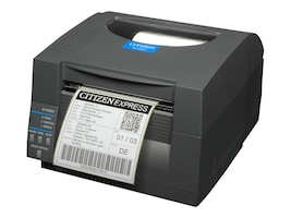 Citizen CBM CL-S521 DT 203dpi 4 Ethernet Printer - Dark Gray, CL-S521-E-GRY, 12489691, Printers - Bar Code