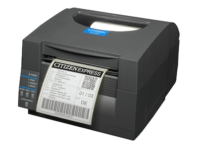 Citizen CBM CL-S521 DT 203dpi 4 Ethernet Printer - Dark Gray, CL-S521-E-GRY, 12489691, Printers - Bar Code