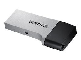 Samsung 32GB USB 3.0 Duo Drive OTG Flash Drive, MUF-32CB/AM, 30833636, Flash Drives