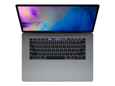 Apple MacBook Pro 15 TouchBar w ID 2.2GHz Core i7 16GB 256GB SSD Radeon Pro 555X 4GB Space Gray, MR932LL/A, 35875624, Notebooks - MacBook Pro 15