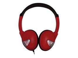 Avid Lightweight On-Ear Headphones - Red, FV-060RED, 16710111, Headphones
