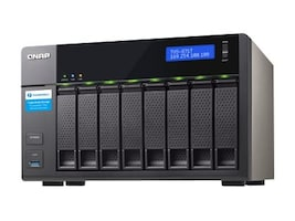 Qnap 8-Bay NAS w 16GB RAM & i7-4790S, TVS-871T-I7-16G-US, 30770065, Network Attached Storage