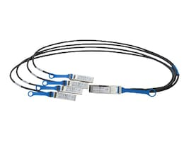 Intel Ethernet QSFP+ to 4 SFP Passive Twinax Breakout Cable, 3m, X4DACBL3, 17350699, Cables