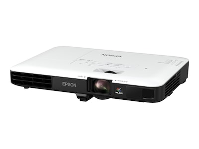 Epson PowerLite 1780W Wireless WXGA 3LCD Projector, 3000 Lumens, White Black, V11H795020, 33579522, Projectors