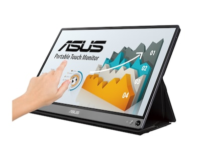 Asus 15.6 MB16AMT Full HD LED-LCD Touchscreen Monitor, MB16AMT, 37427315, Monitors - Touchscreen