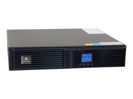 Liebert GXT4 700VA R T Online UPS 120V w  Rackmount Kit, GXT4-700RT120, 18381999, Battery Backup/UPS